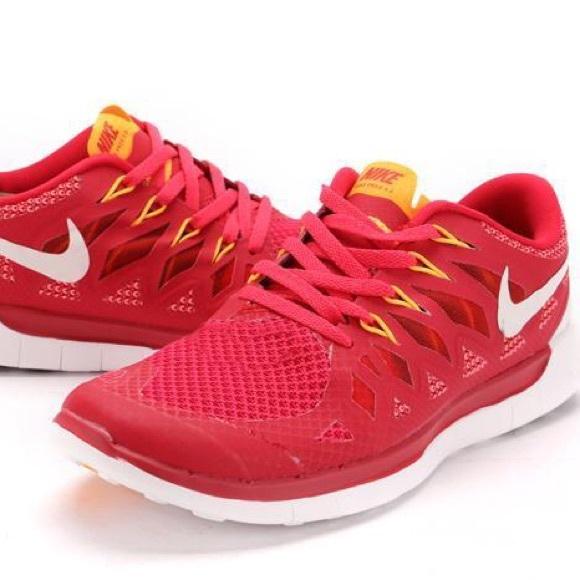the latest 94359 2ba8c Red Nike Free Run 5.0. M 5c941c00534ef9b5b5f0ab93